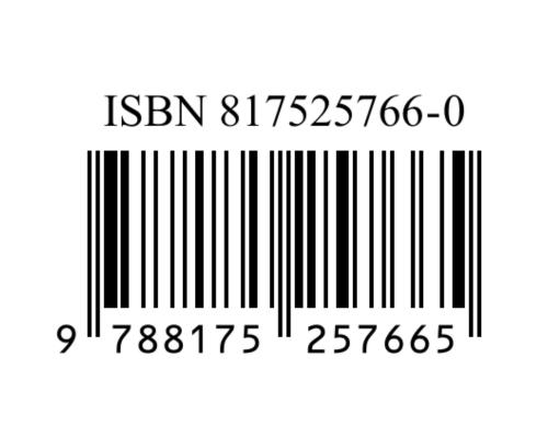 Beispiel einer ISBN
