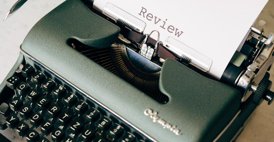 Schreibmaschine Rezension